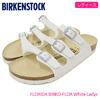 BIRKENSTOCK FLORIDA BIRKO-FLOR White Ladys GC054733画像