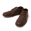 GUIDI LOW LACE SHOES -SOFT CALF- BROWN 992T画像