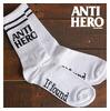Antihero Blackhero If Found Sock White/Black画像