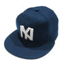 Ebbets Field Flannels VINTAGE BASEBALL CAP 1935 New York Black Yankees navy画像