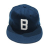 Ebbets Field Flannels 1940 Joe Louis Brown Bonbers/navy画像