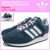 adidas Originals WOMENS ZX 700 Mineral Blue/White/Clear Pink S78940画像