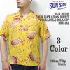 "SUN SURF S/S HAWAIIAN SHIRT ""PINEAPPLE ISLAND"" SS37142画像"