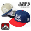 BEN DAVIS Bi-COLOR 35 BASEBALL CAP BDW-9418画像