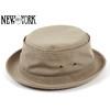 NEW YORK HAT CANVAS STINGY KHAKI画像