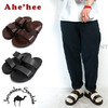 Ahe'hee × Jerusalem Sandals 2 STRAP Leather Sandal画像