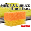 COLUMBUS SUEDE & NUBUCK Brush Brass画像