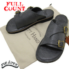 FULLCOUNT Leather Sandal made by LEFTHAND BLACK 6831画像