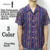 "Duke Kahanamoku SPECIAL EDITION S/S HAWAIIAN SHIRT ""ROYAL STRIPES"" DK37251画像"