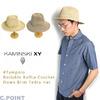 KAMINSKI XY TAMPOLO Rollable Raffia Crochet Fedra Hat画像