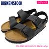 BIRKENSTOCK MILANO BIRKO-FLOR Black Ladys GC034793画像