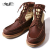 Russell Moccasin Thula Thula PH Red Brown Weather Tuff画像