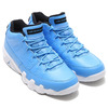 NIKE AIR JORDAN 9 RETRO LOW UNIVERSITY BLUE/UNIVERSITY BLUE-WHITE-BLUE 832822-401画像