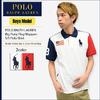 POLO RALPH LAUREN Big Pony Flag Wappen S/S Polo Shirt 3236057画像