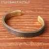 STUDEBAKER METALS THOMPSON CUFF BRACELET BRASS画像