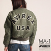 "AVIREX WOMENS MA-1 COMMERCIAL LOGO ""NEW"" 6262078画像"