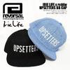 reversal Irie Life × rvddw UPSETTERS BB CAP ILHA16-001画像
