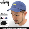 STUSSY Stock Low Profile Strapback Ballcap 131595画像