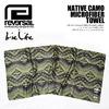 reversal × Irie Life NATIVE CAMO MICROFIBER TOWEL ILHA16-006画像