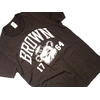 TAIL GATE BROWN 1764 S/S TEE/brown画像