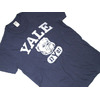 TAIL GATE YALE S/S TEE/navy画像