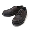 Russell Moccasin Oneida Blk Suede 1278-27V画像
