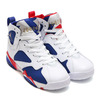 NIKE AIR JORDAN 7 RETRO BG WHITE/METALLIC GOLD COIN-DEEP ROYAL BLUE-INFRARED 23-LIGHT IRON ORE-DEEP ROYAL BLUE 304774-123画像