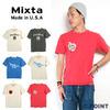 Mixta Basic Crew Print T-shirts画像