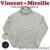Vincent et Mireille ボトルネック スウェットシャツ VM16FSRS104M画像