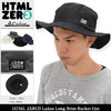 HTML ZERO3 Lukes Long Brim Bucket Hat HED262画像
