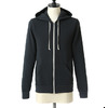 Alternative Apparel Rocky Eco-Fleece Zip Hoodie BLACK 09590F2画像