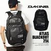 DAKINE ATLAS BLACKOUT 25L画像