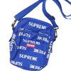 Supreme 3M Reflective Repeat Shoulder Bag ROYAL画像