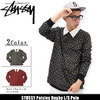 STUSSY Paisley Rugby L/S Polo 114923画像