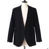 GOLD MILLING WOOL NO COLLAR TAILORED JACKET GL13642画像