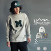 MANASTASH × SKOOKUM LETTERD SWEAT SHIRTS 7163121画像