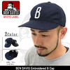 BEN DAVIS Embroidered B Cap WHITE LABEL BDW-9435画像