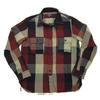 TOPAZ Indigo Block check Worker's Shirts 「JACKSON」 TS-2351画像
