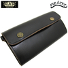 BLACK SIGN Cow Leather Black Eye Truckers Wallet BSFA-16616B画像