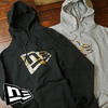 NEW ERA CITY LS FLAG LOGO SWEAT PULLOVER HOODIE 11321705/11321706画像