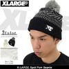 X-LARGE Spot Pom Beanie M16C9202画像
