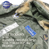 "Buzz Rickson's N-3B SLENDER ORIGINAL SPEC. ""57th FTR.INTCP.SQ."" BR13624画像"