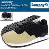 Saucony SHADOW ORIGINAL SUEDE Black/Off White S70257-5画像