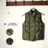 Crescent Down Works Double Button Vest画像