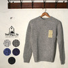 INVERALLAN Crew Neck Flat Stitch 2.5G Heavy Weight Sheatland画像