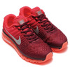 NIKE AIR MAX 2017 NIGHT MAROON/WHITE-GYM RED 849559-601画像