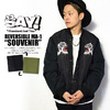 "SAY! REVERSIBLE MA-1 ""SOUVENIR""画像"