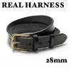 REAL HARNESS 28mm スティラップレザー ベルト画像