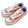 CONVERSE ALL STAR 100 SPANGLE USF OX RED 32891872画像