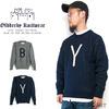 Oldderby Knitwear Alphabet Crew Sweater画像